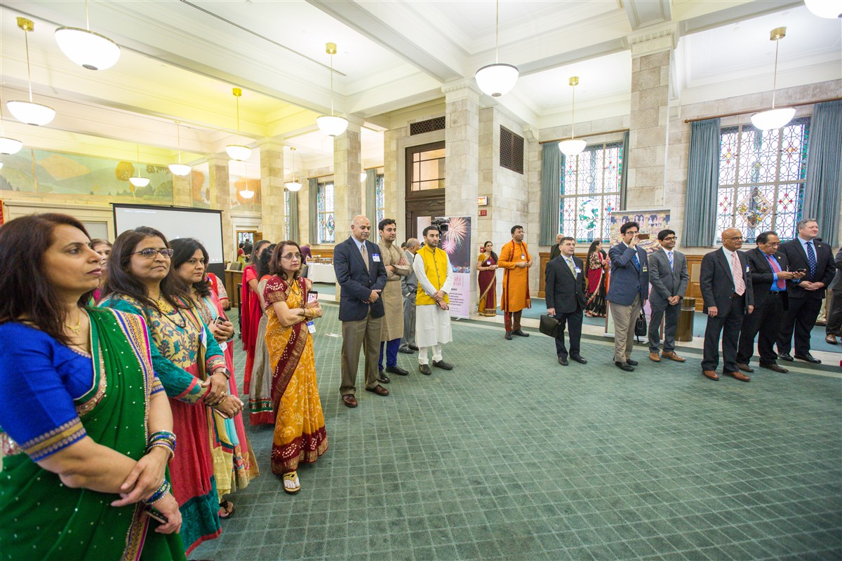 Diwali Celebration at the New Jersey State Capitol, Trenton, NJ