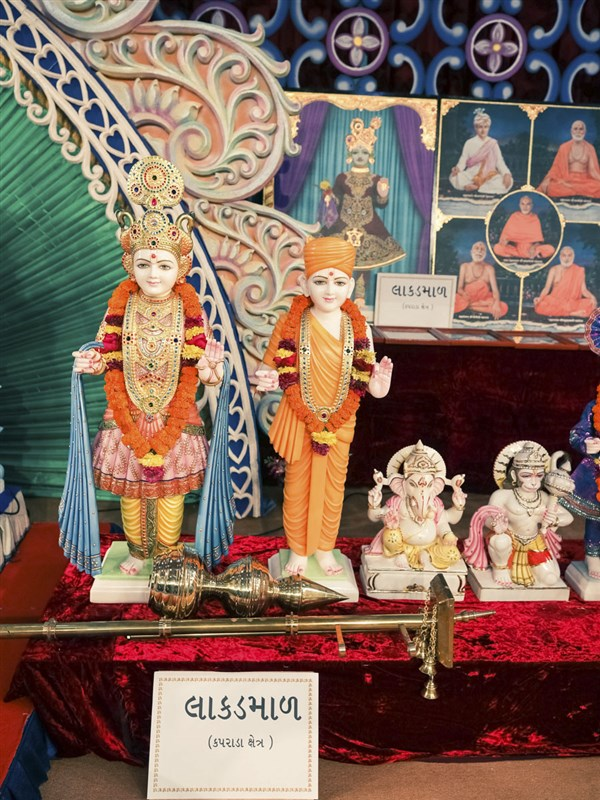 Murtis to be consecrated at BAPS Shri Swaminarayan Mandir, Lakadmal, India