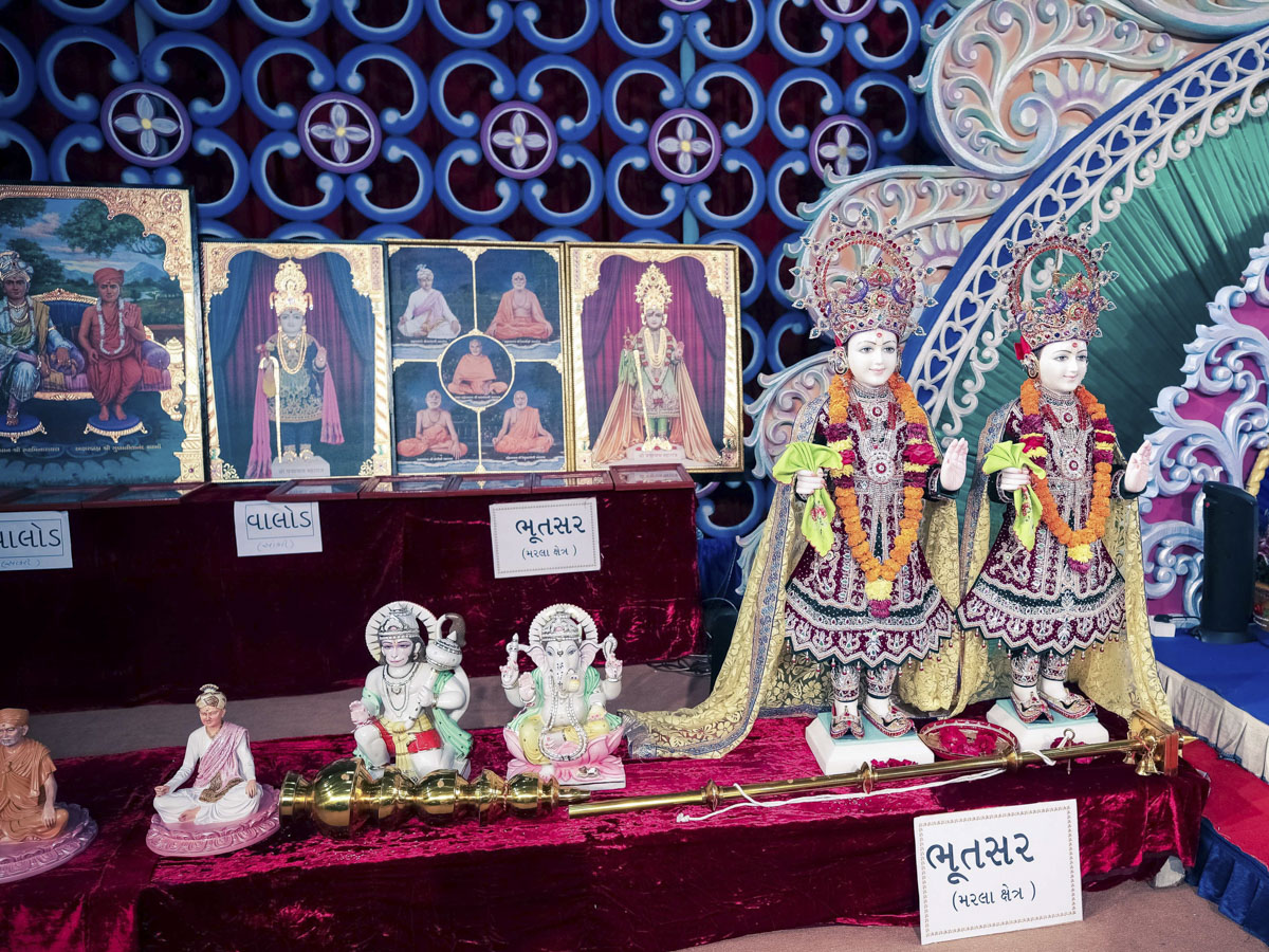 Murtis to be consecrated at BAPS Shri Swaminarayan Mandir, Bhutsar, India