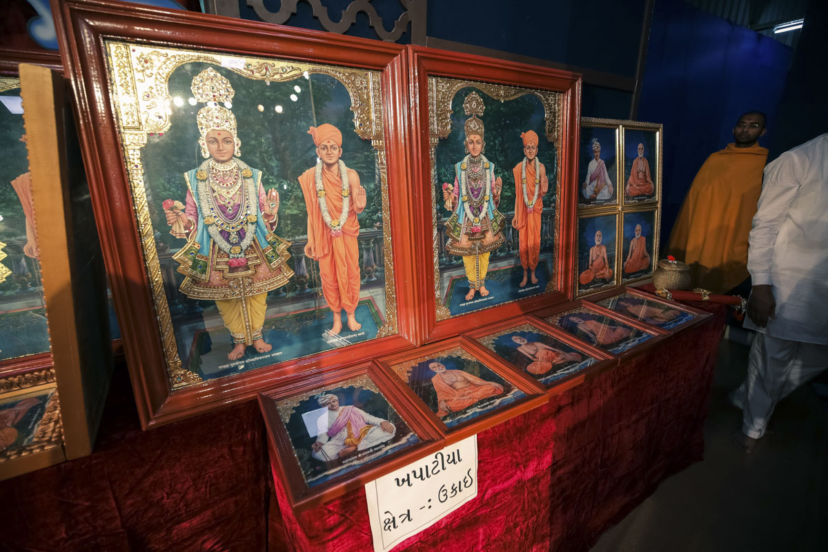 Murtis to be consecrated at BAPS Shri Swaminarayan Mandir, Khapatiya, India