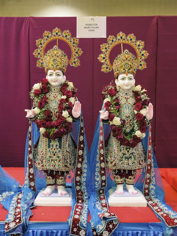 Murtis to be consecrated at BAPS Shri Swaminarayan Mandir, Hamilton, New Zealand