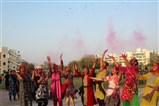 Holi celebration at SVM Randesan