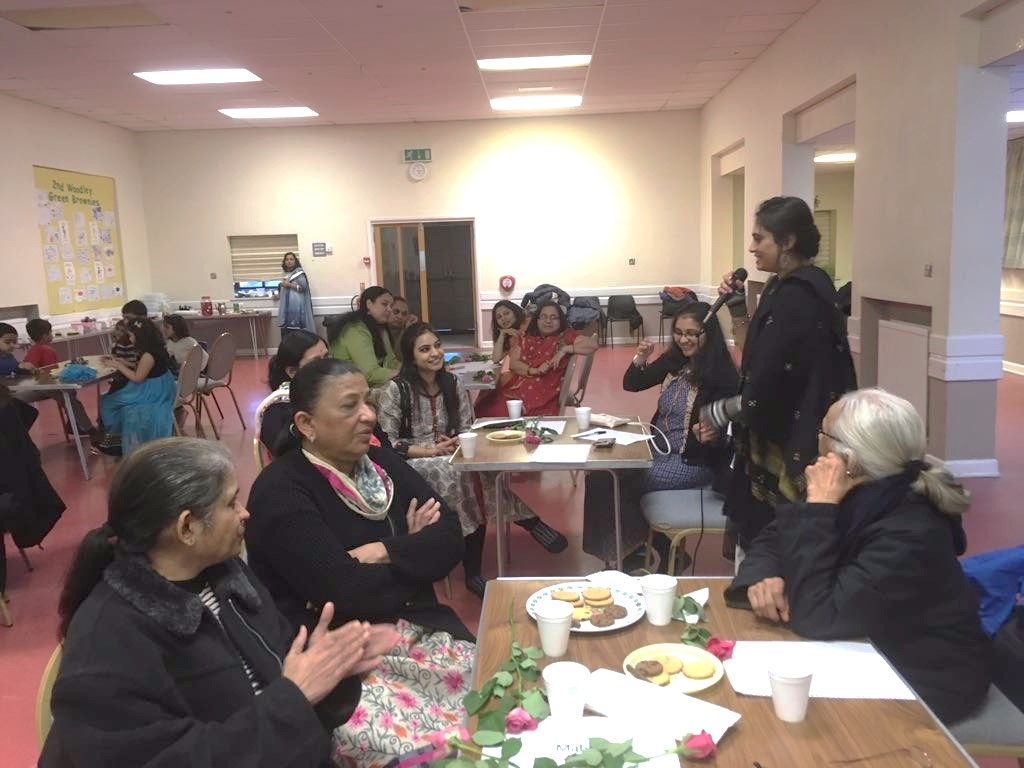 Celebrating International Women's Day, Reading, UK