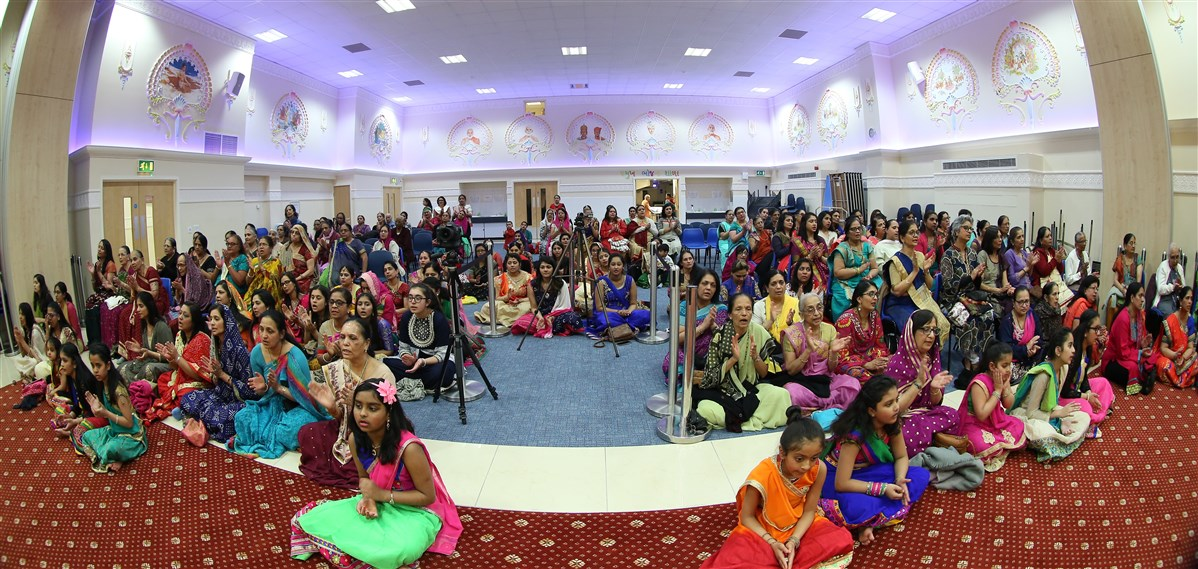Swaminarayan Jayanti & Rama Navami Mahila Celebrations, Wellingborough, UK