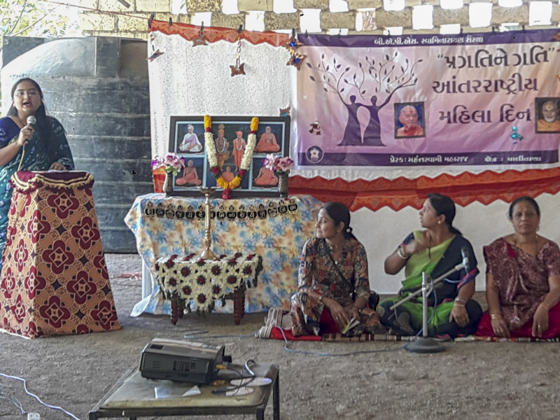 Women's Day Celebration 2018, Palitana