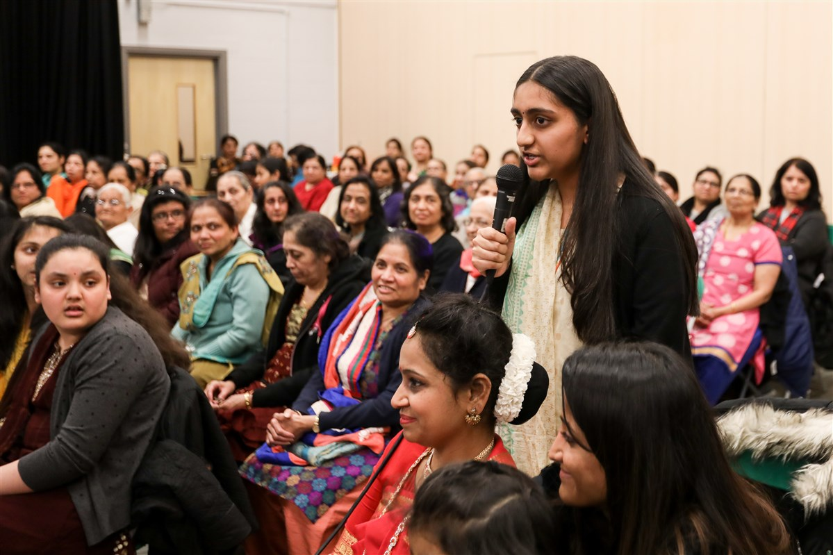 Celebrating International Women's Day, East London, UK