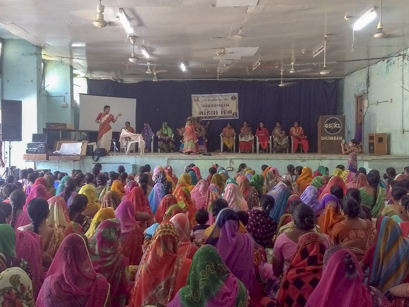 Women's Day Celebration 2018, Dhuvaran