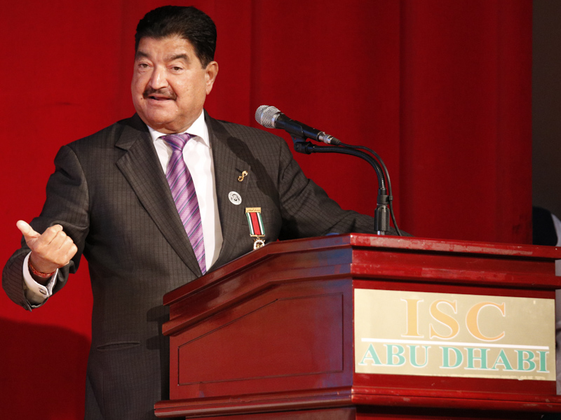 Shri B.R. Shetty addresses the assembly