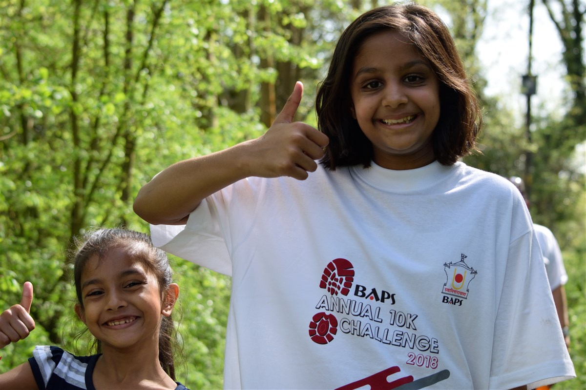 BAPS Annual 10K Challenge, Crawley, UK