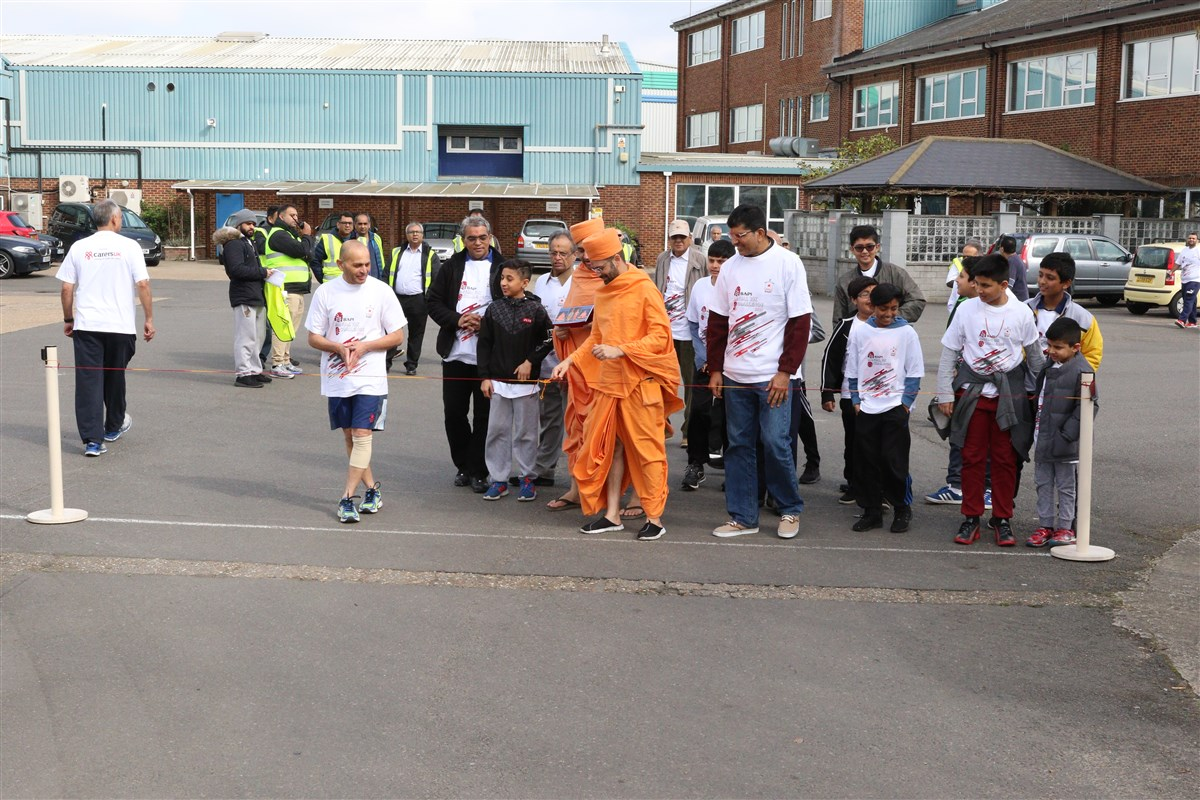 BAPS Annual 10K Challenge, South London, UK