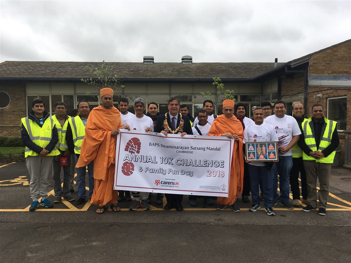 BAPS Annual 10K Challenge, Cambridge, UK