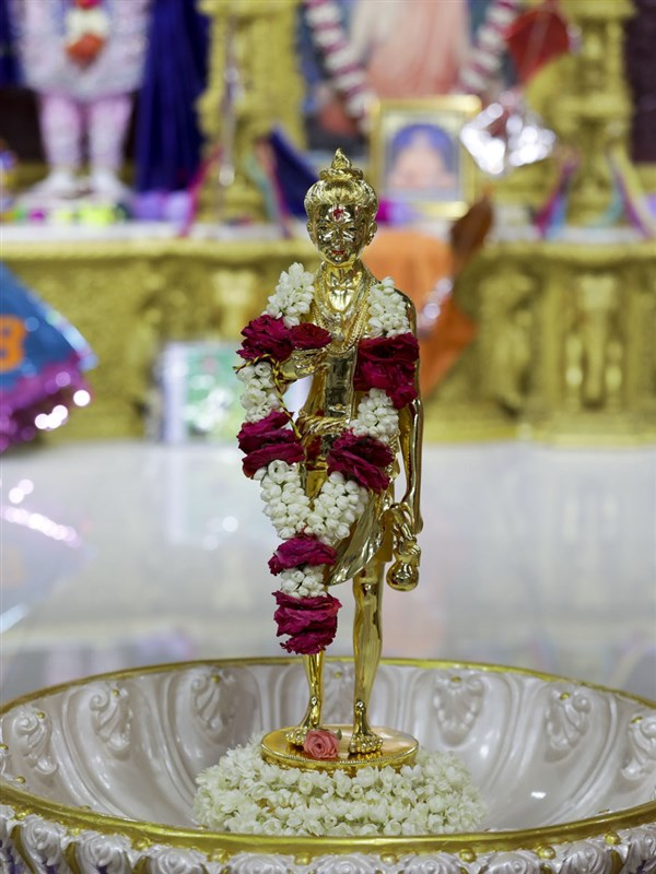 Shri Nilkanth Varni murti to be consecrated