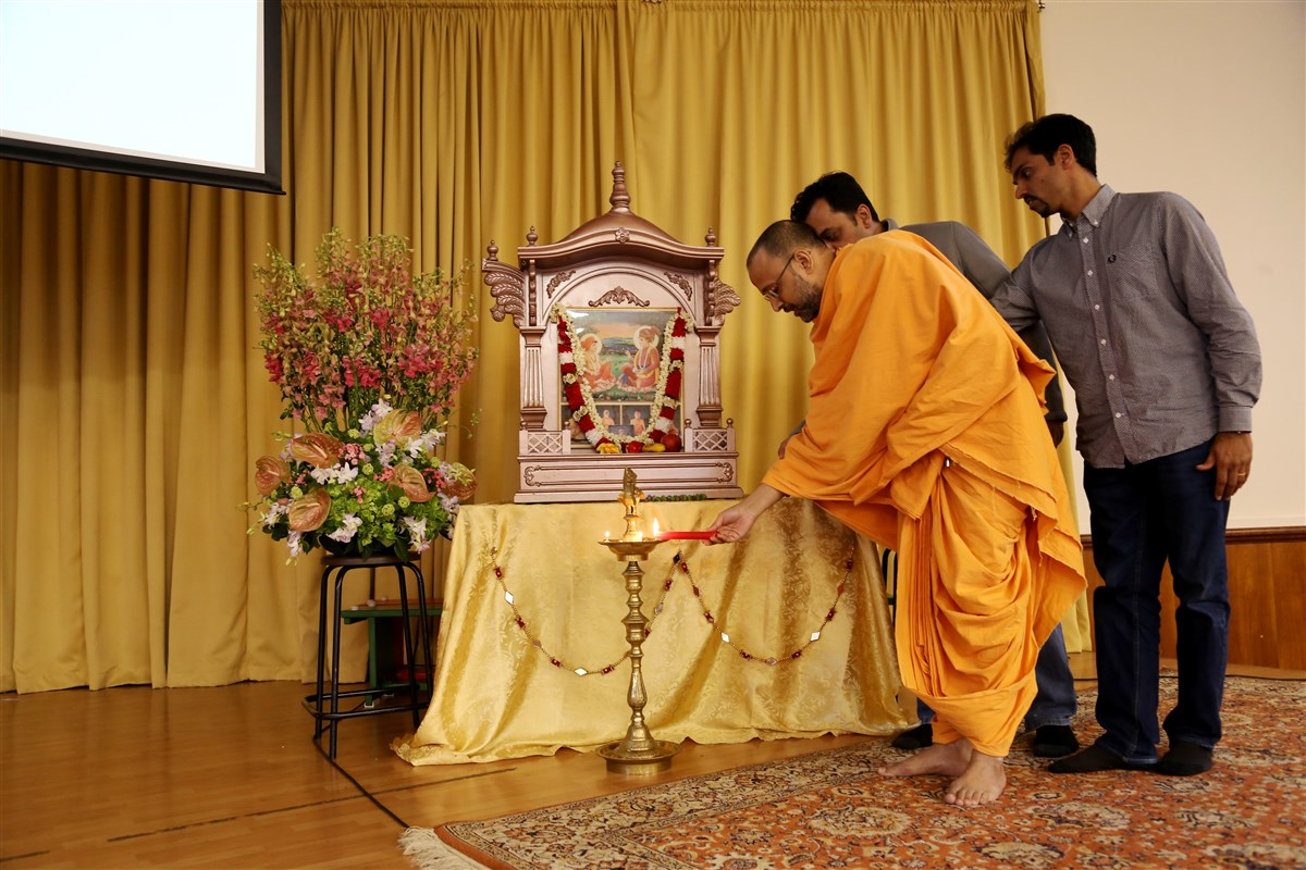 Garbha Sanskar Seminar, London, UK