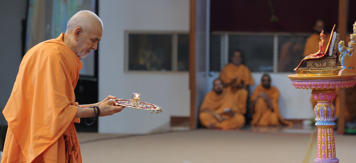 16 June 2018 - HH Mahant Swami Maharaj's Vicharan, Sarangpur, India