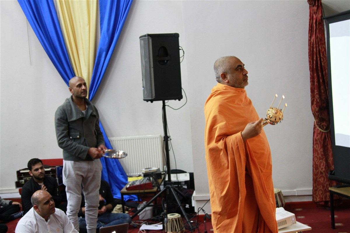Satsang Parayan, Coventry, UK