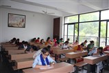 Students giving Satsang Exams at SVM Randesan