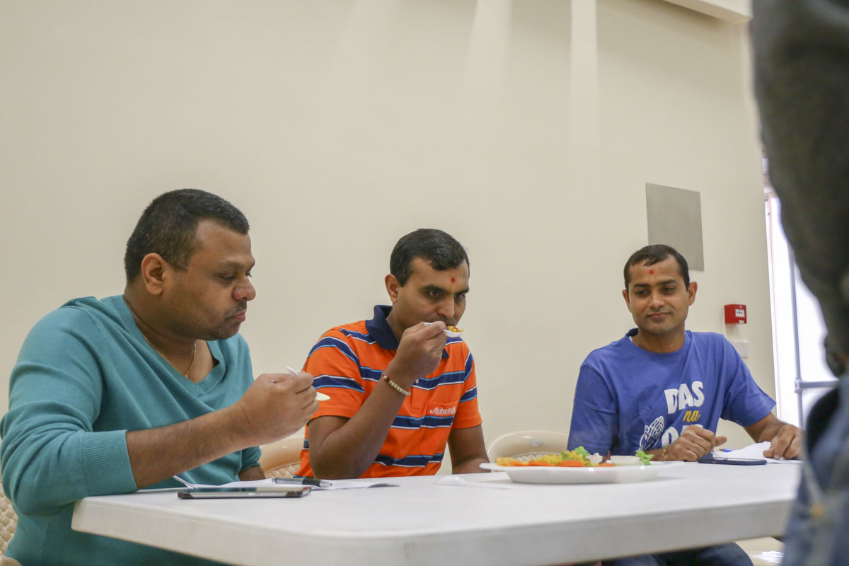 BAPS Youths Organize Cooking Competition, Adelaide