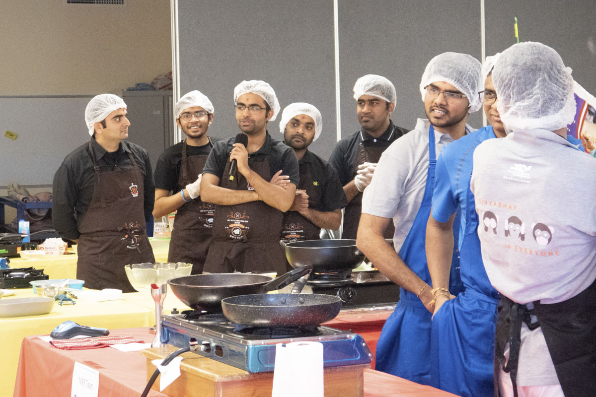 BAPS Youths Organize Cooking Competition, Sydney