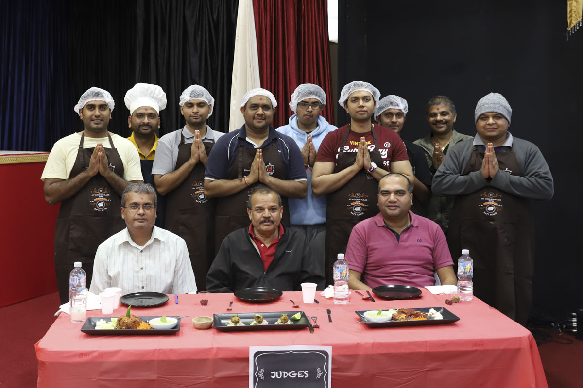 BAPS Youths Organize Cooking Competition, Perth