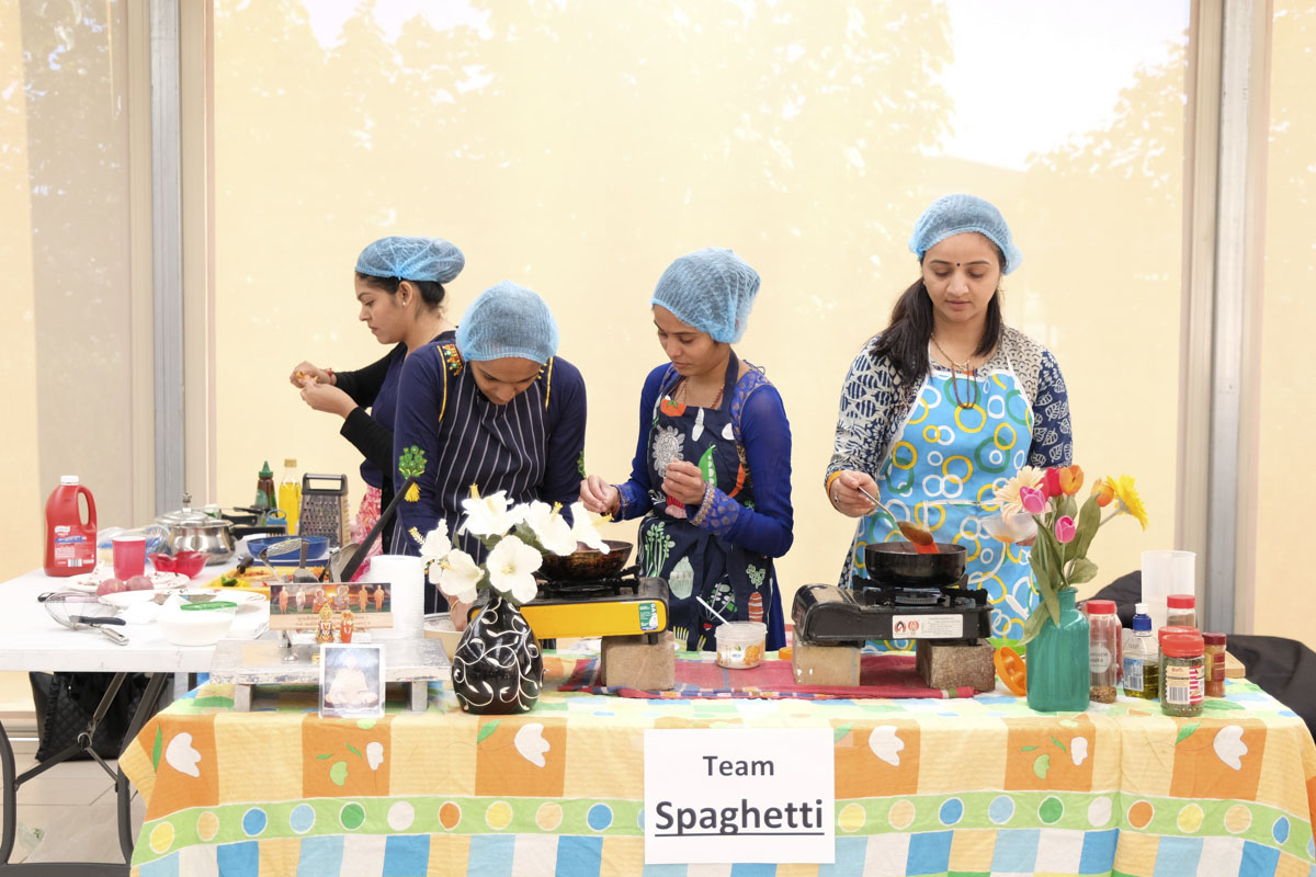 Cooking Competition for Yuvatis, Adelaide
