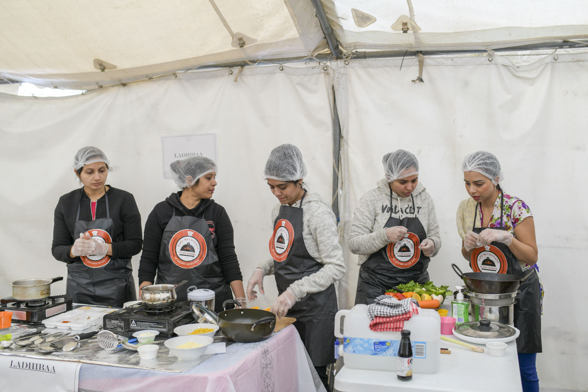 Cooking Competition for Yuvatis, Melbourne