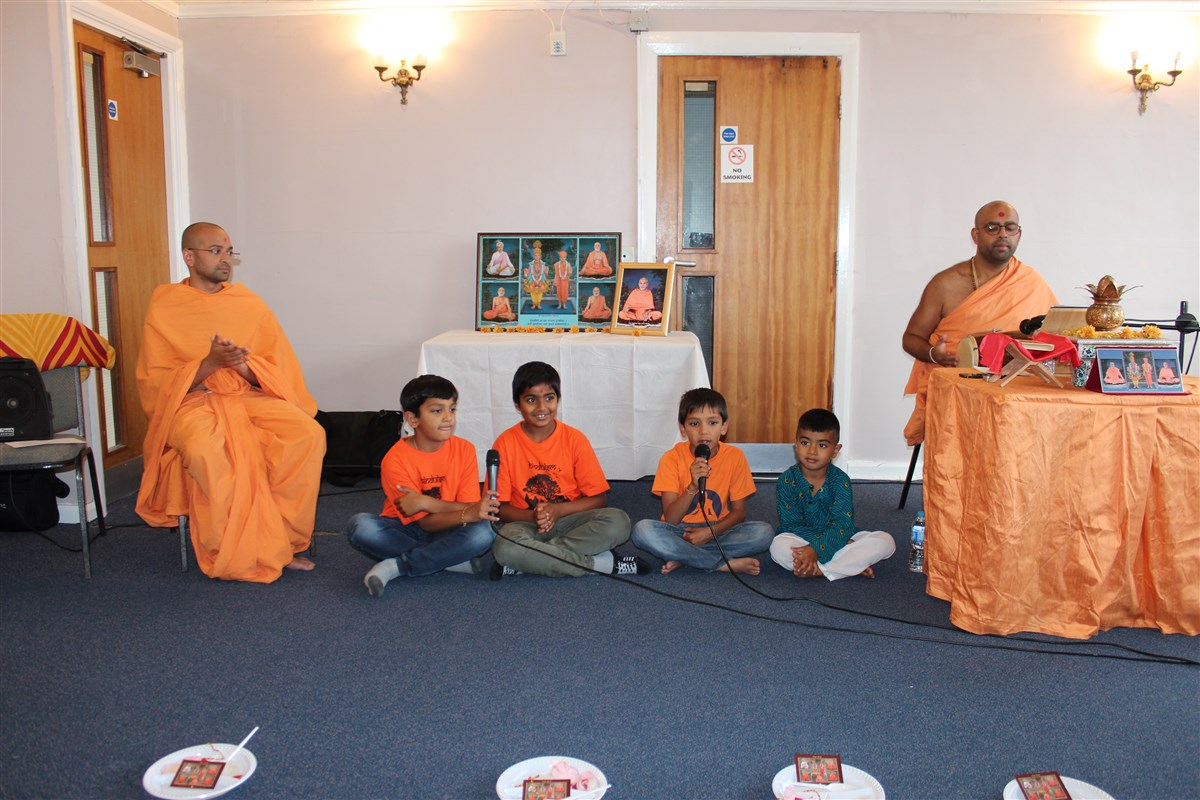 Chaturmas Parayan, Newcastle, UK