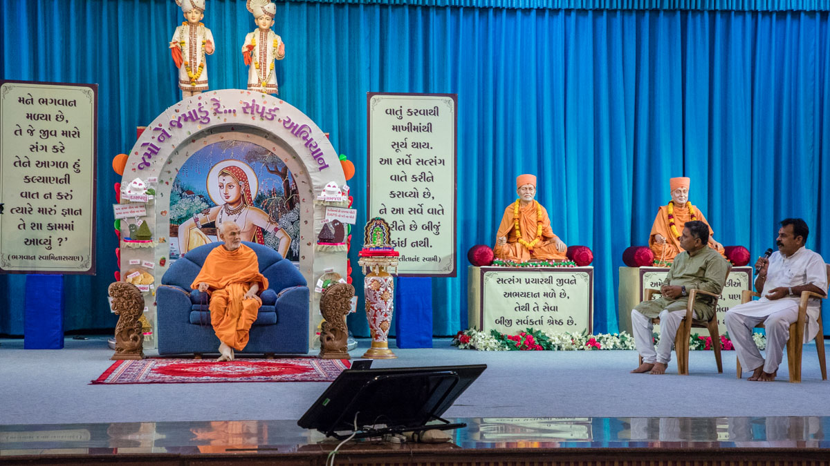 Devotees narrate their satsang experiences