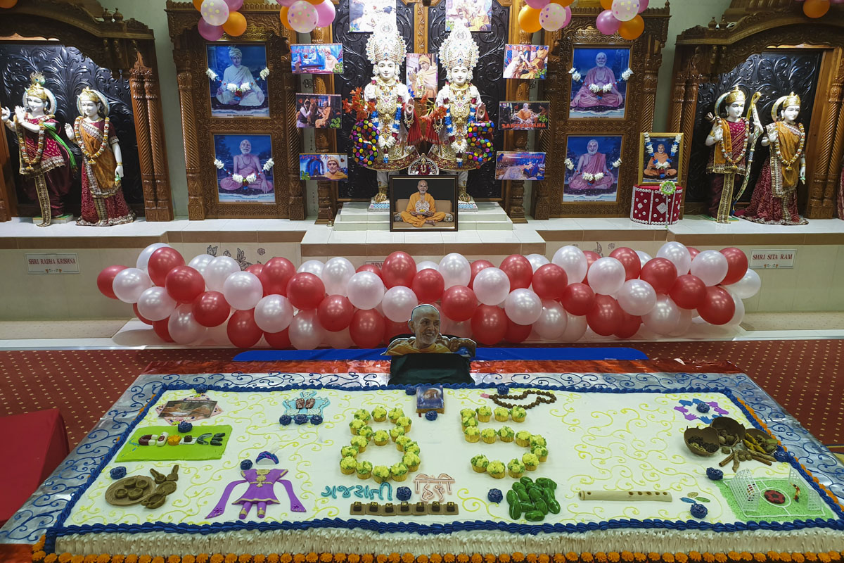 85th Birthday Celebration of Pragat Brahmaswarup Mahant Swami Maharaj, Durban
