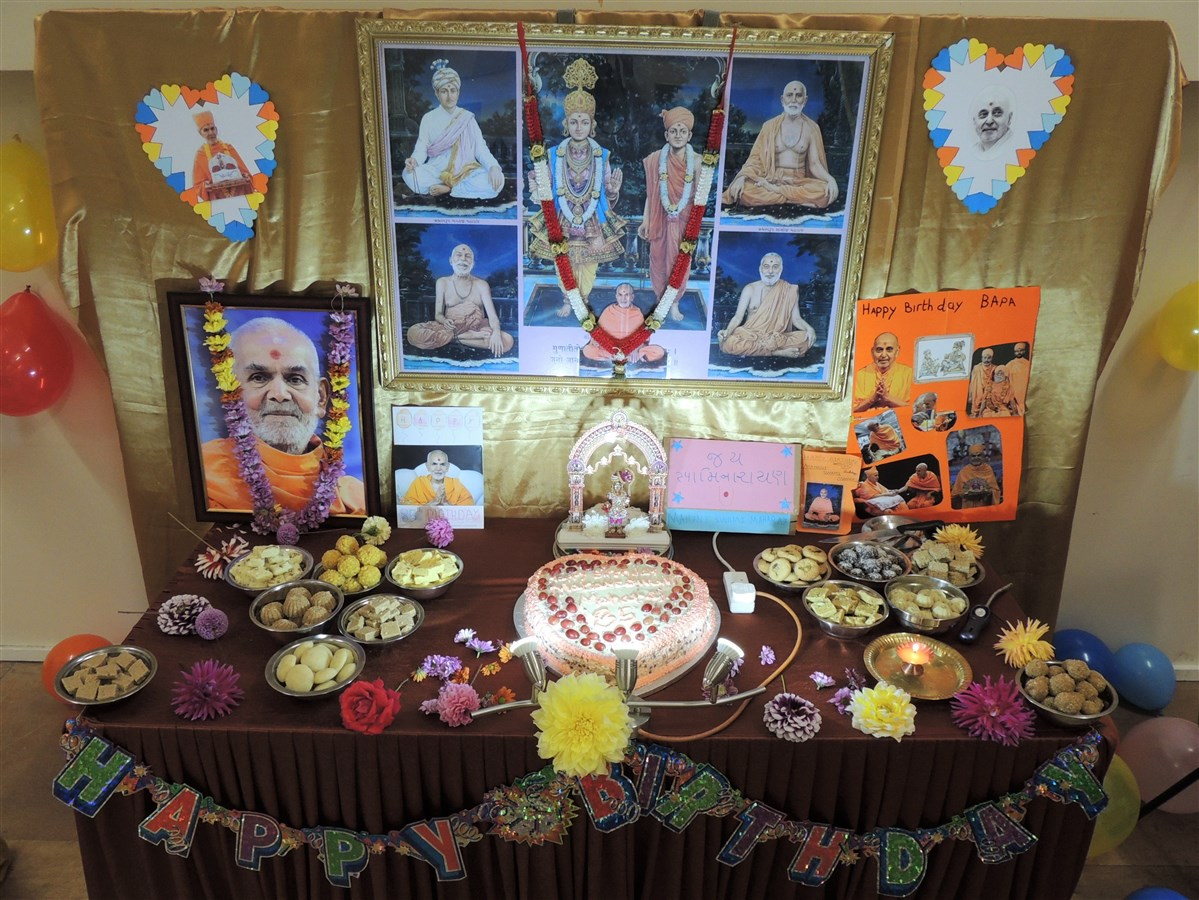 Mahant Swami Maharaj Janma Jayanti Celebrations, Crawley, UK