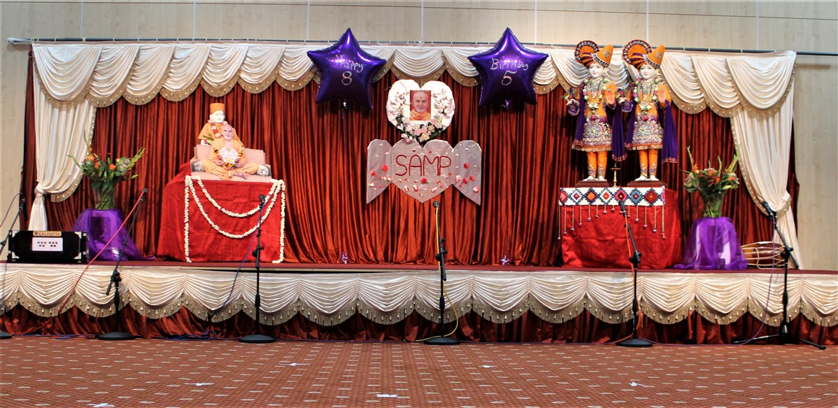 Mahant Swami Maharaj Janma Jayanti Celebrations, Wellingborough Mahila Mandal, UK