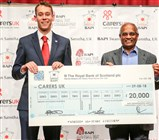 Cheque Presentation to Carers UK