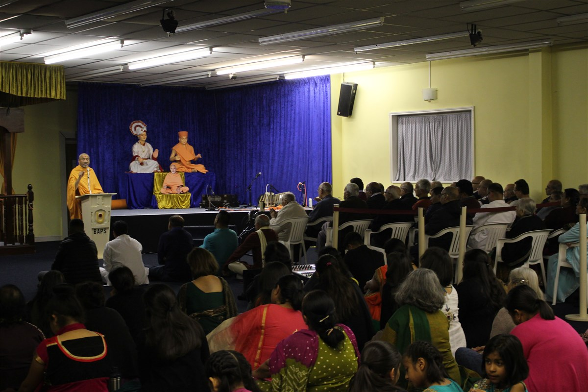 Mahant Swami Maharaj Janma Jayanti Celebrations, Loughborough, UK