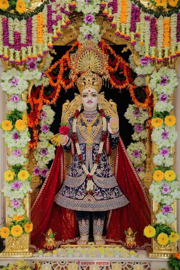 Happy New Year Mahant Swami 64