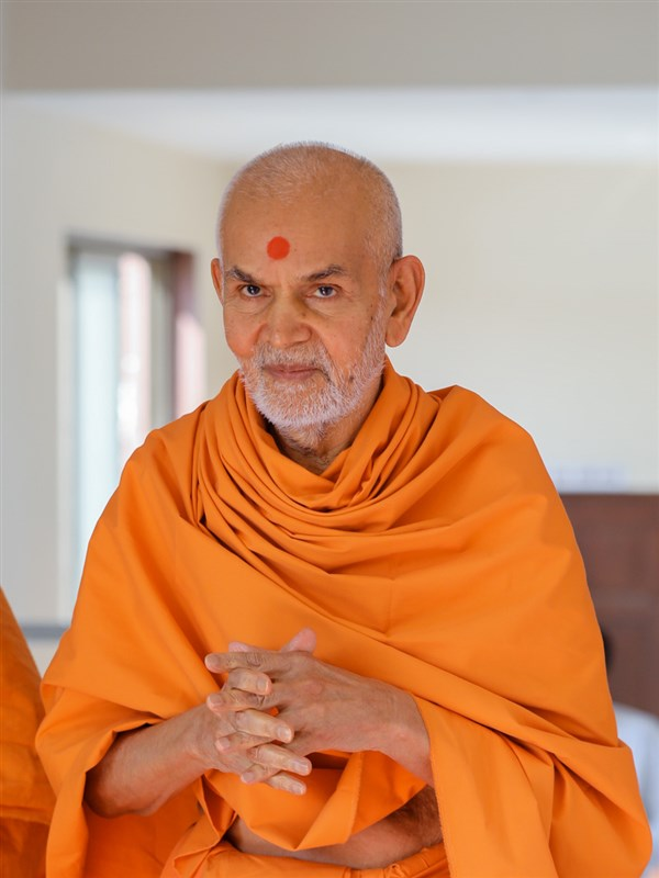 Happy New Year Mahant Swami 20