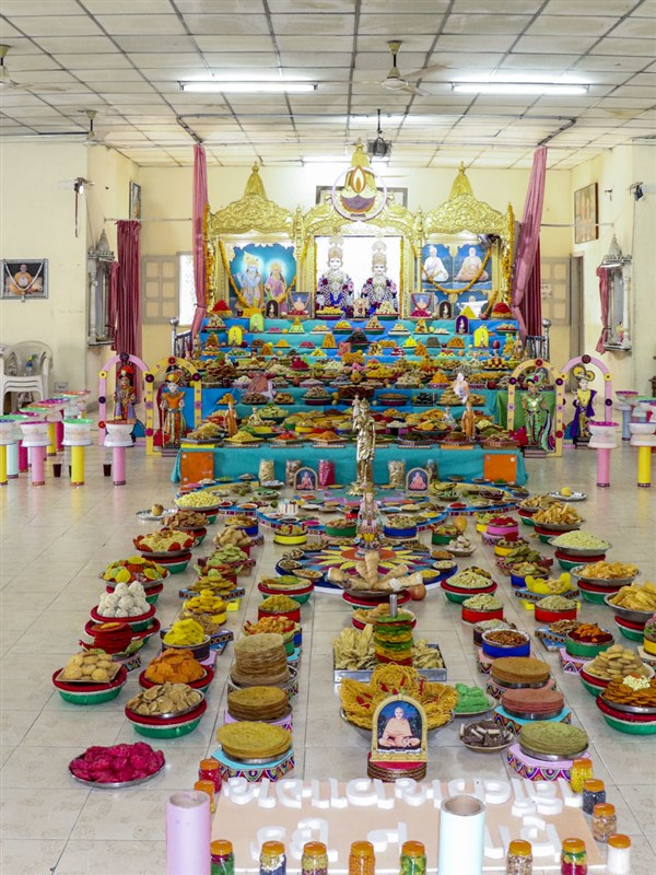 Diwali and Annakut Celebrations 2018, Naroda, Ahmedabad