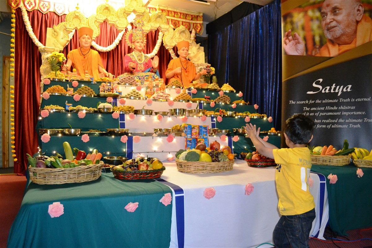 Diwali & Annakut Celebrations, Nottingham, UK