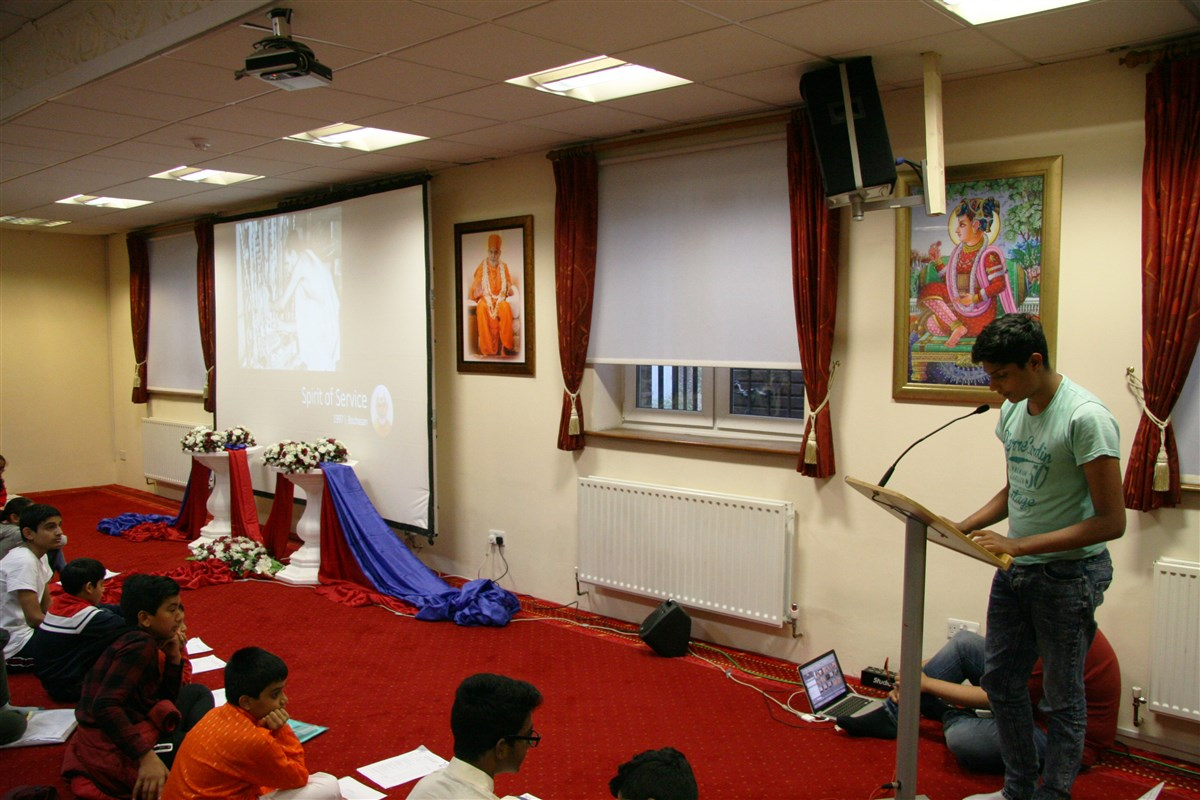 Mahant Swami Maharaj Janma Jayanti Celebrations, Southend-on-Sea, UK