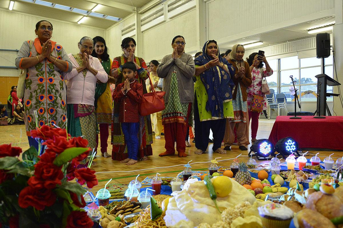 Diwali and Annakut Celebrations 2018, North-East Adelaide