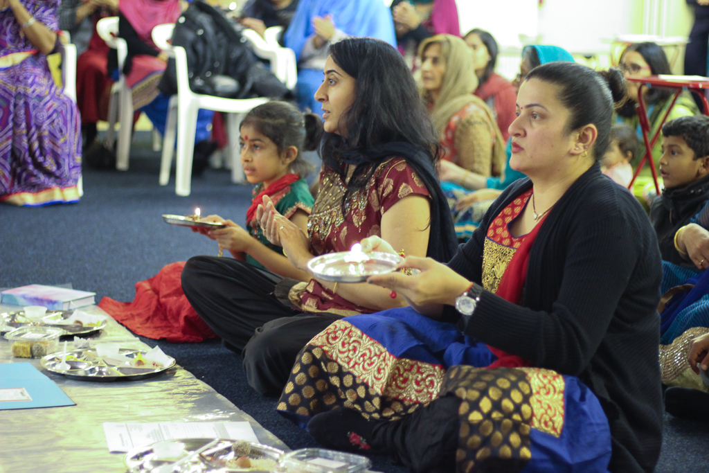 Diwali & Annakut Celebrations, Loughborough, UK
