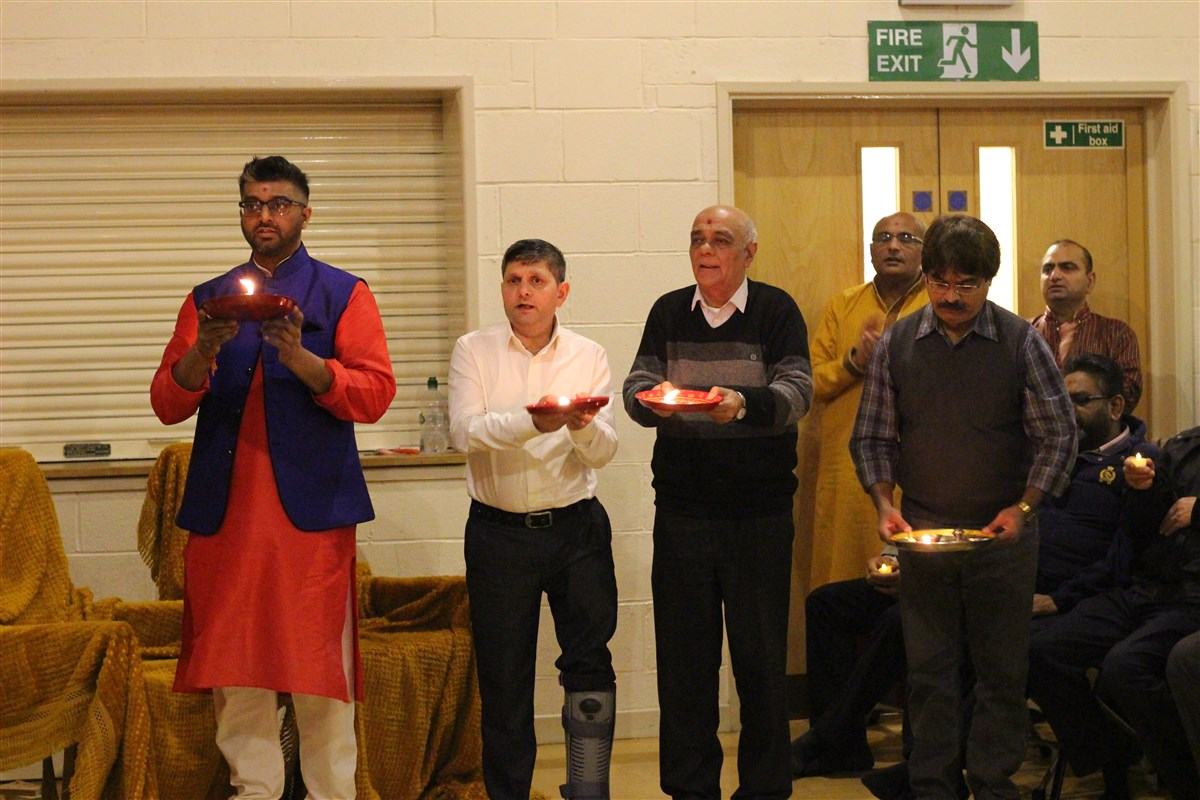 Diwali & Annakut Celebrations, Hinkley, UK