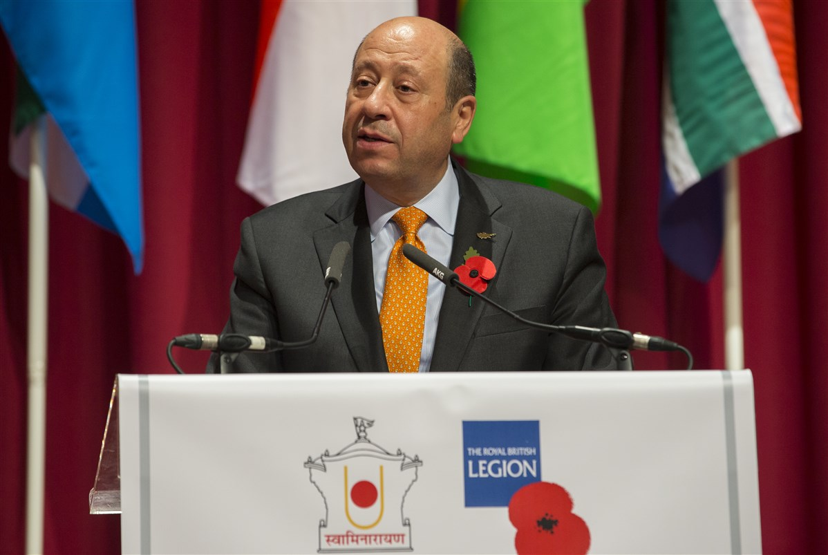 HE Euripides L. Evriviades <br>High Commissioner of Cyprus to the United Kingdom <br>Chair of the Commonwealth Board of Governors