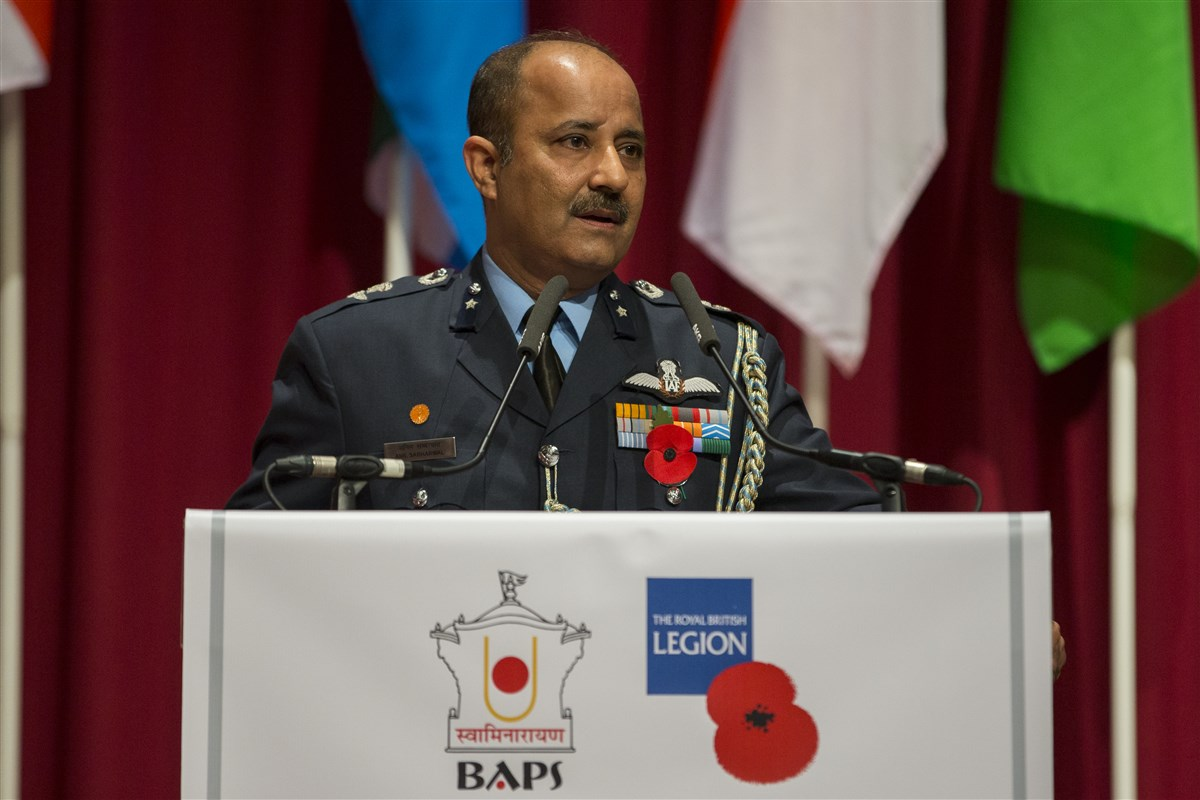 Air Commodore Anil Sabharwal <br>On Behalf of the High Commission of India to the United Kingdom