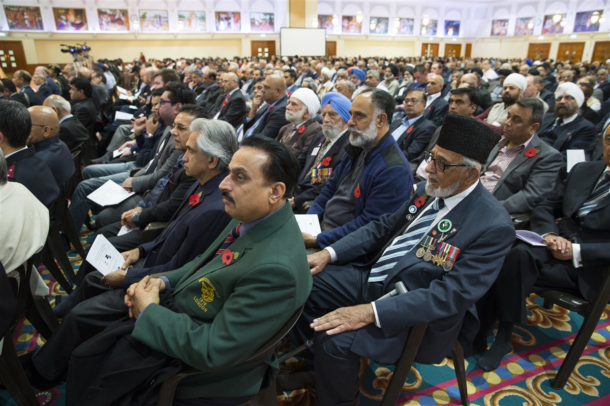 Guests from all faiths and backgrounds had come together as one to honour the sacrifices of so many