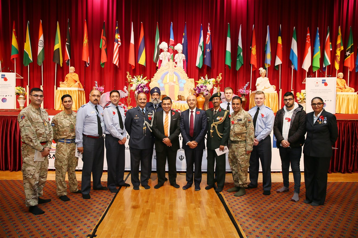Several esteemed members of the British and Indian armed forces and government had participated in the evening