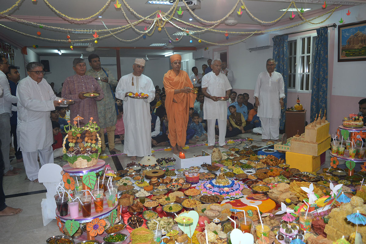 Diwali and Annakut Celebrations 2018, Muscat