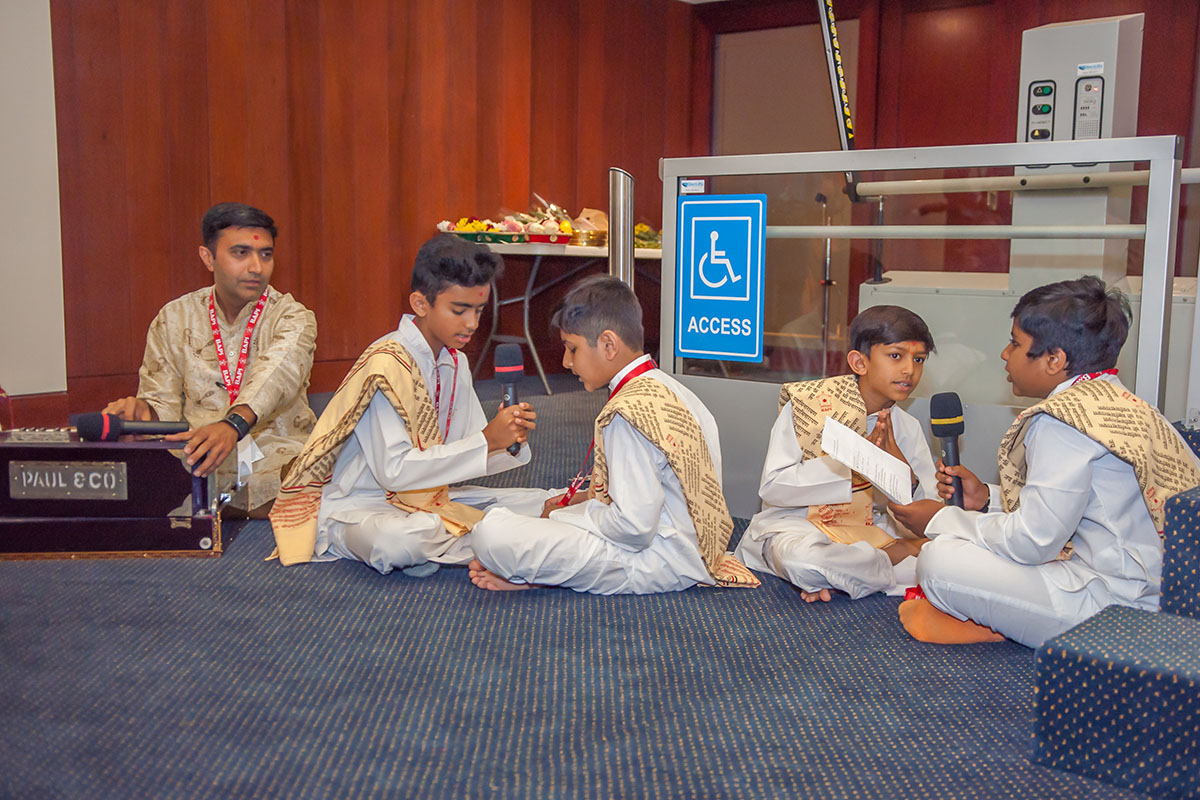 Diwali and Annakut Celebrations at the Parliament of Queensland, Brisbane, 2018