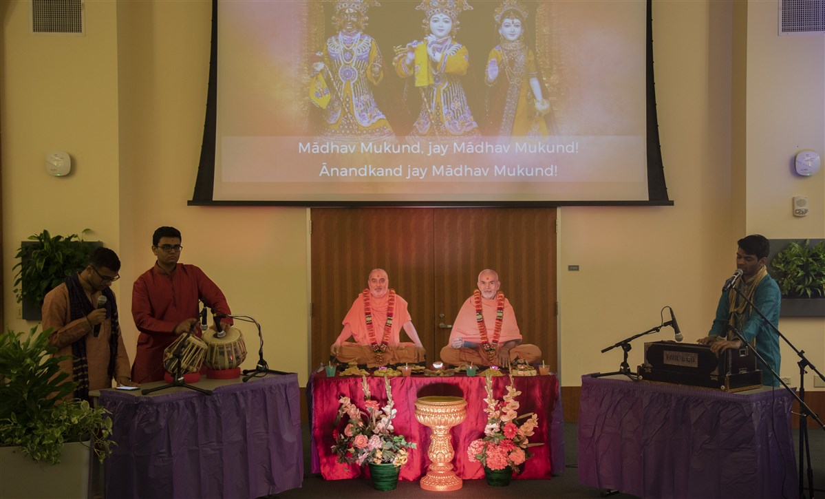 BAPS Campus Diwali Celebration at the University of Houston.