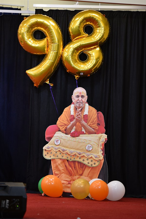 98th Birthday Celebration of Brahmaswarup Pramukh Swami Maharaj, Brisbane