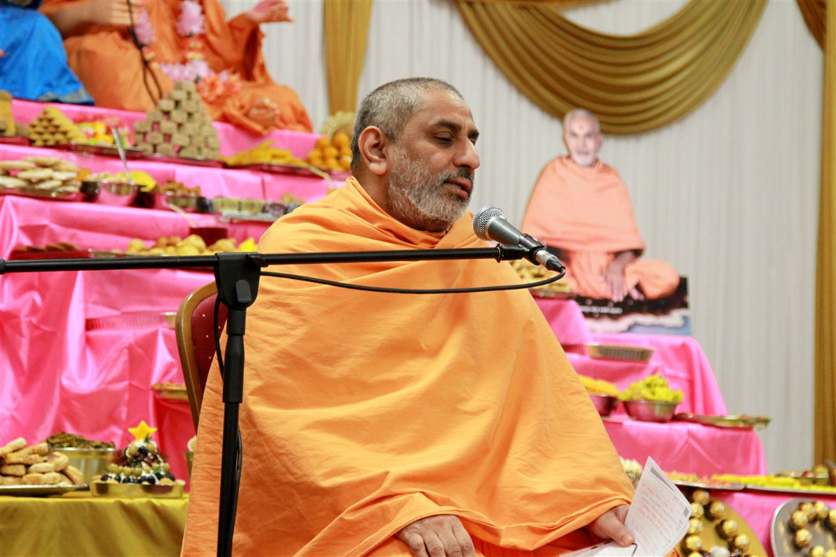 Pramukh Swami Maharaj Janma Jayanti Celebrations, Coventry, UK