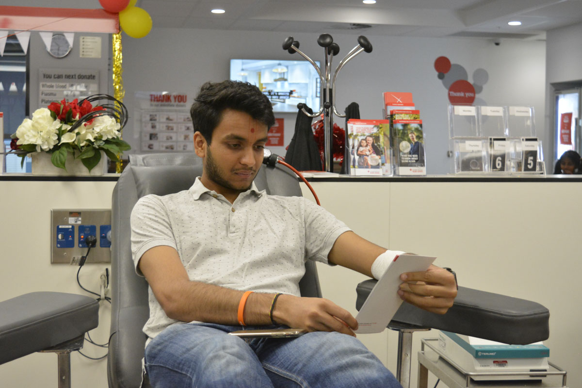 Blood Donation Drive 2018, Adelaide